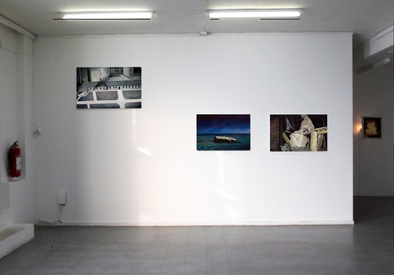 Installation view, Skånes Konstförening