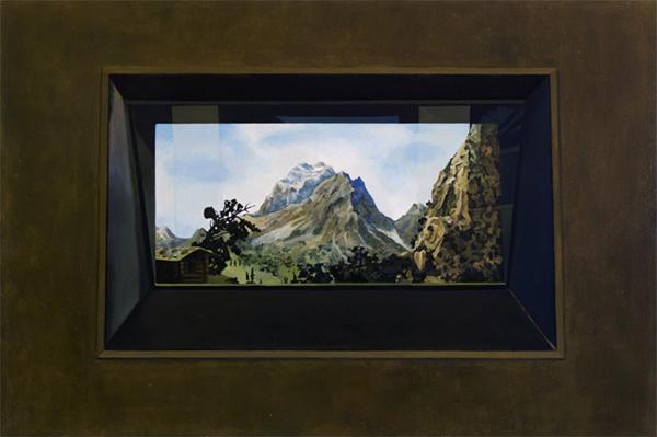 Cobolt mountain(As from a distance)