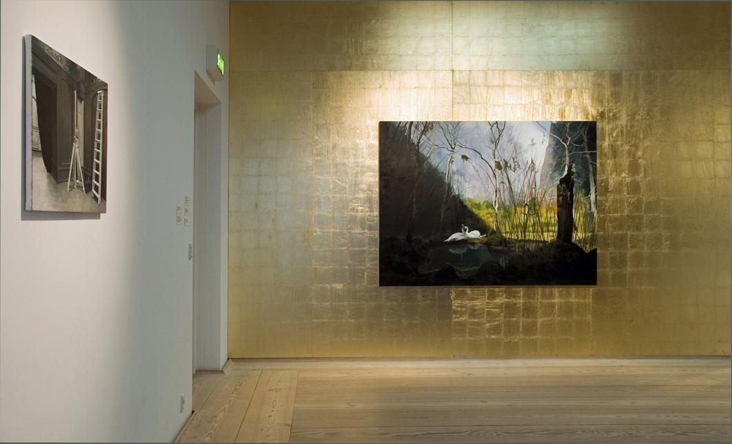 installationsbild guldväggen