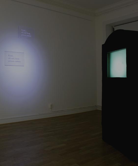 installationsbild melancholic resistance