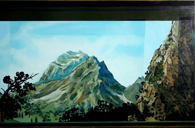 Lysande Utsikt Cobolt Mountain)